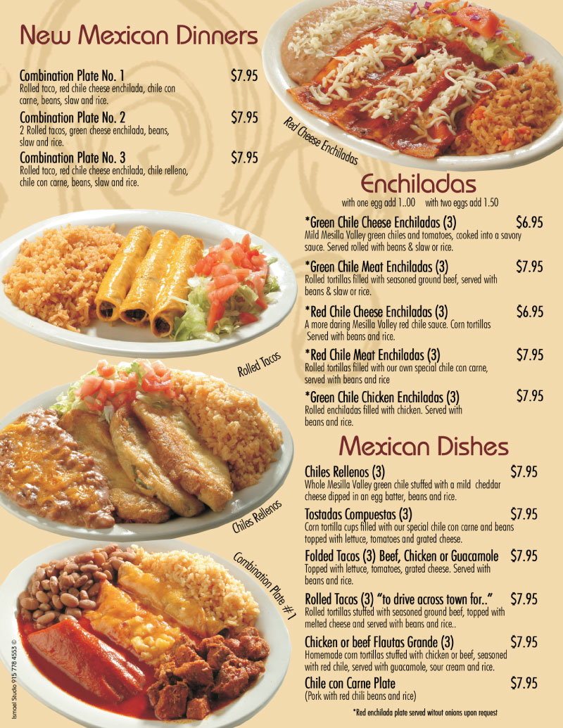 Se or fish mexican dishes for Senor fish menu